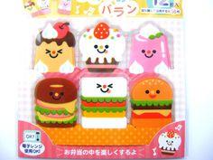 Bento Lunch  Box Accessory Bento Baran Food Separator Sheet Smiley Food