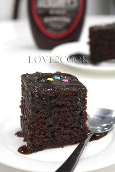 ♥ LOVE2COOK MALAYSIA♥: ♥...Eggless Moist Chocolate Cake...♥