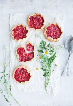 Mini Strawberry galettes by Call Me Cupcake!