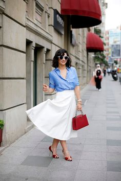 Office outfits for summer - Style Advisor All About Fashion, I Love Fashion, Fashion Looks, Modest Fashion, Fashion Outfits, Urban Chic, Look Chic, Street Style Looks, Office Outfits