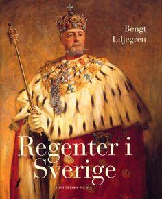 Regenter i Sverige av Bengt Liljegren. Från Historiska Media. Kings Crown, Movie Posters, Image, Crowns, Book Covers, Books, Historia, Livros, Libros