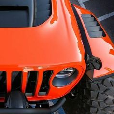 Save by Hermie Orange Jeep Wrangler, Jeep Wrangler Yj, Jeep Rubicon, Jeep Wrangler Unlimited, Jeep Pickup Truck, Chevy Trucks, Badass Jeep, Jeep Mods, Toyota