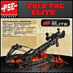 The PSE TAC Elite…An Integrated Crossbow #archery #bows @psearchery