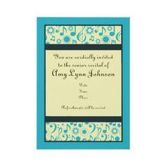Pretty Wedding Invite