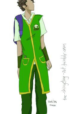 Castelobruxo uniform concept by GabsTheChangeling