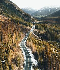Endless highways winding through the raw beauty of British Columbia. Especially an exceptional experience in autumn! Who's down for a road trip?