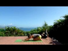 Core workout for runners - a short yoga based sequence