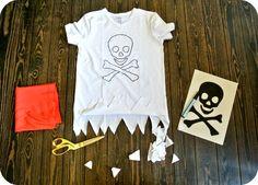 pirate shirt diy