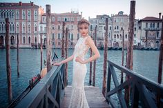 From Venice with Love | Wedding Dresses from Yaki Ravid's 2015 Fall/Winter Bridal Collection | via @StrictlyWeddings