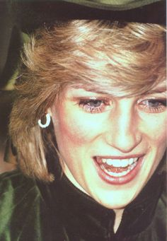 March 2, 1983: Princess Diana in Aylesbury, Buckinghamshire for the Hale Leys Shopping Centre opening.