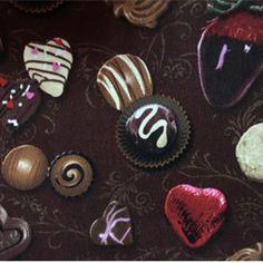 100*110cm Export Order Chocolate Novelty Designer Fabric Cotton Sewing Handmade Fabrics telas Patchwork Sofa Upholstery Fabric