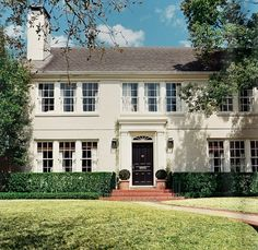 """Forget the apartment; all I want in life is a colonial style house.""  I read that on Pinterest today and laughed out loud. It's a funny and bold comment, but wow did it also really resonate with me. I swear I can't get the Center Hall Colonial out..."