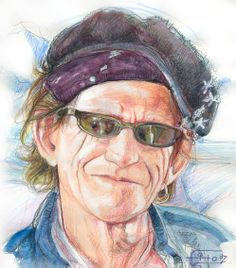 Keith Richards, técnica mixta