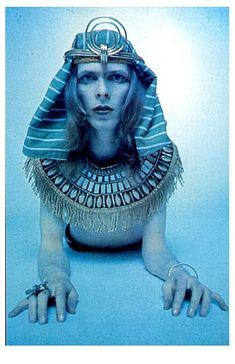 David Bowie #egyptian #pharao