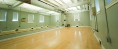 Studio catered towards co-working, dance, yoga, fitness, and birthday parties.