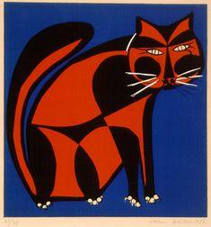 Gato, 1958 | Aldemir Martins