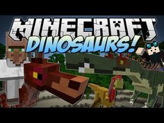 ▶ Minecraft | DINOSAURS! (Enter the Jurassic Dimension!) | Mod Showcase - YouTube