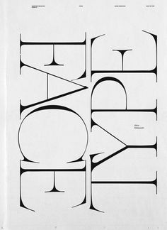 Creative Typography, Baubauhaus, Design, Graphic, and Poster image ideas & inspiration on Designspiration Font Design, Web Design, Poster Design, Typography Love, Typography Letters, Graphic Design Typography, Typography Poster, Japanese Typography, Calligraphy Letters