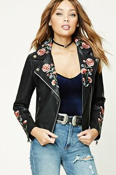 Score some style from Forever 21. Moto jackets, utility jackets, pea coats, & prints - we've got them and much more.