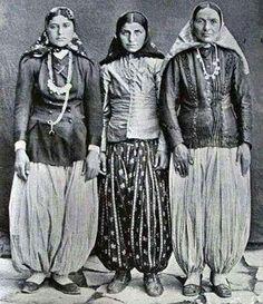 Qajar women.