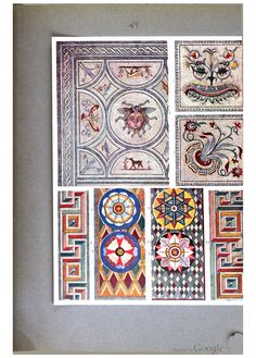 The Coloured Ornament Of All Historical Styles