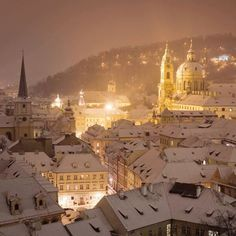 Prague in Winter(Favorite Places & Spaces)