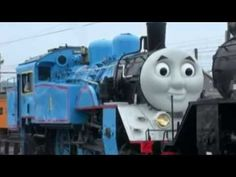 Japanese rail companies have gone so far as to make real Thomas the Tank Engine trains that run on limited schedules. Kids can see Thomas barreling down the tracks on Shizuoka Prefecture's Oigawa line. Engineers took meticulous care to make sure the train was the real deal—they even took the time to make sure the train's steam was Thomas' trademark white--
