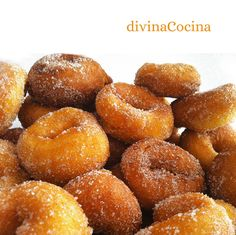 You searched for Rosquillas - Divina Cocina Flan, No Bake Desserts, Just Desserts, Donuts, Spanish Dishes, Pan Dulce, Pastry Cake, Cake Servings, Cake Shop