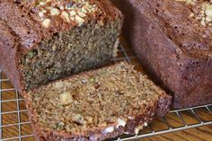 Zucchini Spice Bread with Walnuts and Olive Oil recipe by Barefeet In The Kitchen (the BEST Zucchini Bread you will ever taste!)