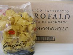 is pasta has been made for over 200 years in the town of Gragnano - the town was named for wheat (Grano). The fresh spring water in addition to the sunny weather and the nearby sea make this region the perfect area in all of Italy for making pasta. We are proud of this pasta, and know that you will enjoy it. Cooking Suggestions: Add pasta and pich of salt to boiling water.