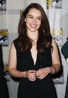 Emilia Clarke aka Daenerys Targaryen for all you GOT fans...she is just stunning-the epitome of beauty!