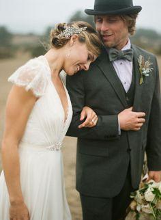 A Nautical Inspired Wedding Shoot in Bodega Bay, California