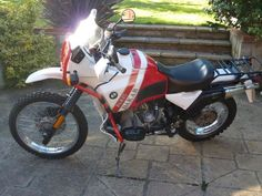 BMW R100GS PD White/Red, only 36772 miles Great Investm...