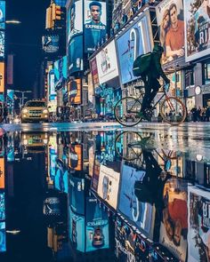 Times Square, NYC by Ibrahim Boran