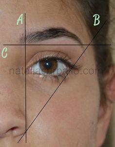 Pautas para el dise o de cejas trucos de belleza pinterest for Diseno de cejas