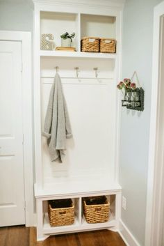 Let these tiny mudroom locker ideas welcome you home. Instantly tidy up and organize your hallway or entryway with industrial mudroom entryway. ideas entryway small Tiny Mudroom Built-in Furniture for Storage Home, Fixer Upper, Interior, Mud Room Storage, House, Mudroom Lockers, Magnolia Homes, Mudroom Entryway, Small Hallways