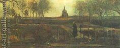 Vincent Van Gogh:The Parsonage Garden At Nuenen