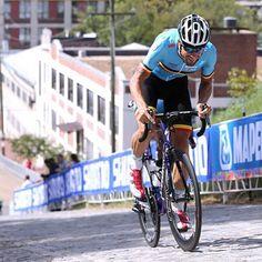Tom Boonen training Richmond 2015