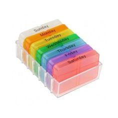 Weekly Pill Box Organizer Medicine 7 Day Storage Holder Container Tablet Vitamin