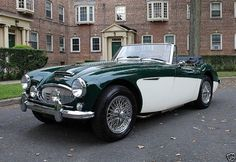 Austin Healey 3000 MKIII BJ8 with Louvered Aluminum Bonnet - 1965