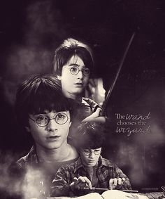 The wand chooses the wizard.