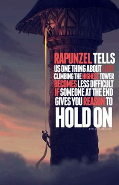 The reason to hold on.