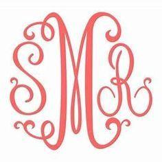 Free Monogram Svg Files For Cricut Cricut Monogram Font Free Monogram Fonts Cricut Monogram