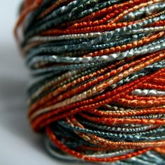 Inca Treasure  handspun yarn by havrdova on Etsy