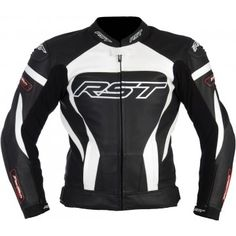 Kurtka RST TRACTECH EVO white męska | RST TRACTECH EVO Leather Jacket Man #Motomoda24