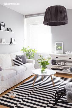 Black and White Inspiration Living Room