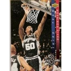 1993-1994 93-94 Upper Deck #AN 13  All-NBA David Robinson ---> shipping is $0.01 !!!