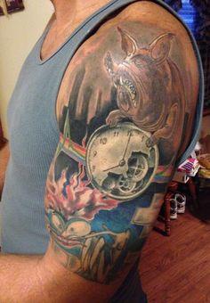 Floyd tattoo