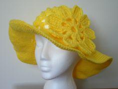 Crochet Sun Hat Pattern   FaveCrafts.com - Christmas Crafts, Free