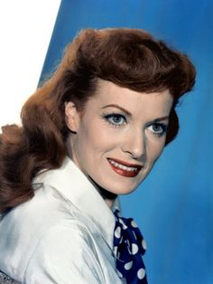 Maureen O'Hara - I'd be lying if I said her movies didn't help save me a little these last 2 weeks.